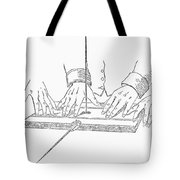 Table-turning Device, 1853 Tote Bag