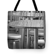 Tables And Stools Tote Bag