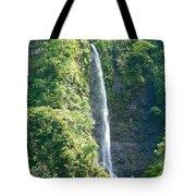 Tahitian Waterfall Tote Bag