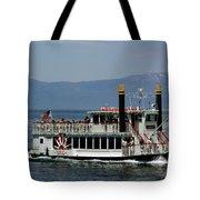 Tahoe Gal On Lake Tahoe Tote Bag