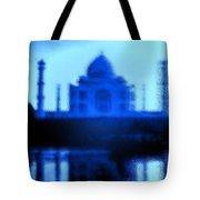 Taj Mahal Blues Tote Bag