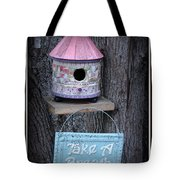 Take A Breath Tote Bag