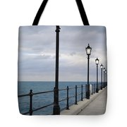Take A Stroll With Me Tote Bag by Luke Moore