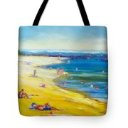 Taking It Easy At Coloundra Beach Queensland Australia Tote Bag