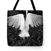 Taking Off Tote Bag