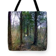 Taking The Long Trail Tote Bag
