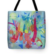 Talk To Me Now Tote Bag