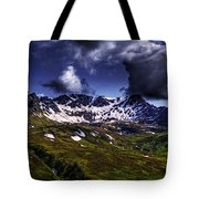 Talkeetna Mountains In Summer Tote Bag