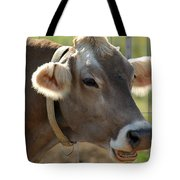 Talking Cow Tote Bag