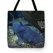 Talking Fish Tote Bag