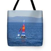 Tall Sail Tote Bag