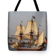 Tall Ship Four Tote Bag