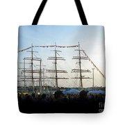 Tall Ships 2009. Klaipeda. Lithuania Tote Bag