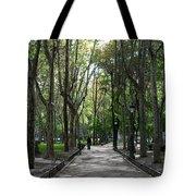 Tall Trees Of Madrid Tote Bag
