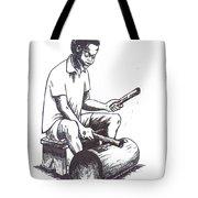 Tambourine Man Tote Bag