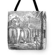 Taming Wild Elephants Tote Bag
