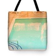 Tandem By The Pool Tote Bag