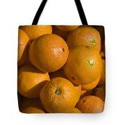 Tangerines Tote Bag by Tim Mulina