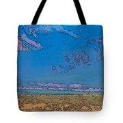 Taos Abstract Tote Bag