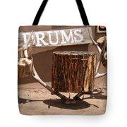 Taos Drum Shop Tote Bag
