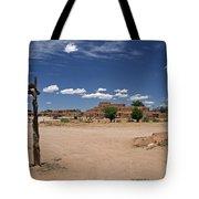 Taos Pueblo New Mexico Tote Bag