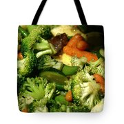 Tasty Veggie Stir Fry Tote Bag