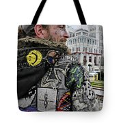 Tattoos And Patches Tote Bag