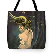 Taurus From Zodiac Series Tote Bag by Dorina  Costras