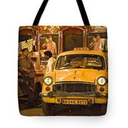 Taxi Talk Tote Bag