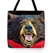 Taxidermy -  Black Bear Tote Bag