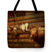 Taxidermy - The Hunting Lodge  Tote Bag
