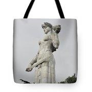Tbilisi Mother Of Georgia Statue Tote Bag