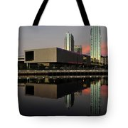 Tbmoa Vertical Split Work One Tote Bag