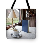 Tea Is Served By Peru Rail On The Way Tote Bag