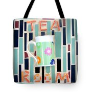 Tea Room Tote Bag