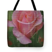 Tea Rose - Asia Series Tote Bag