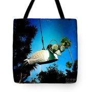 Tea Strainer Duck Tote Bag