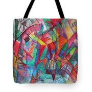 Teach Me To Have Mercy Tote Bag