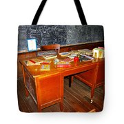 Teacher's Desk Tote Bag