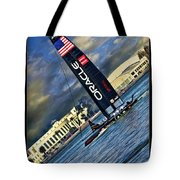 Team Oracle On The Bay Tote Bag