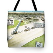 Teapot Dome Scandal, 1924 Tote Bag