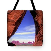 Teardrop Arch Monument Valley Tote Bag