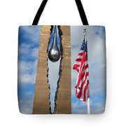 Teardrop Memorial Tote Bag