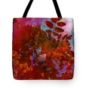 Tears Of Leaf  Tote Bag by Empty Wall