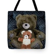 Teddy Elder Care Bear Tote Bag