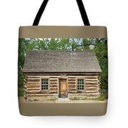 Teddy Roosevelt's Maltese Cross Log Cabin Tote Bag