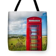 Telephone Anyone Tote Bag