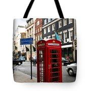Telephone Box In London Tote Bag