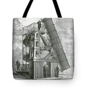 Telescope At The Paris Obervatory Tote Bag