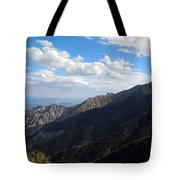 Telescope Peak And The Valley Tote Bag